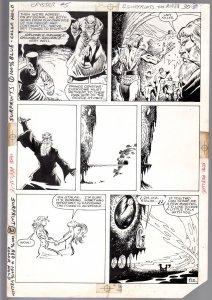 Saga Of Crystar, Crystal Warrior #5 Page 30 Original Comic Book Art-Ricardo V...