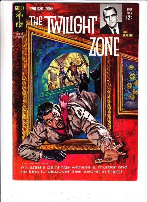 Twilight Zone, The #9 (Nov-64) VF High-Grade Rod Serling