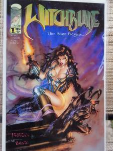 Witchblade 1  The Saga Begins..VF/NM Unread First Witchblade in her own title