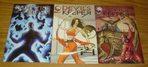the Devil's Keeper #1-3 VF/NM complete series - mike s. miller - kung fu comics