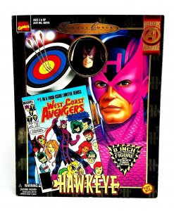 1998 Marvel Comics Famous Cover Series Hawkeye 8 Action Figure