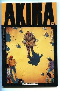 Akira #22 1990- Katsuhiro Otomo- Epic / Marvel Manga Japanese comic