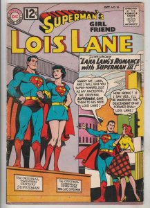 Lois Lane, Superman's Girlfriend  #36 (Oct-62) FN- Mid-Grade Superman, Lois Lane