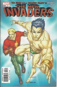 The New Invaders #3 (Dec 04) - To End All Wars part 3