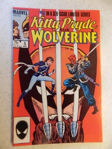 KITTY PRYDE AND WOLVERINE # 5