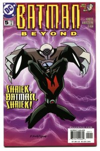 BATMAN BEYOND #5 DC comic book 2000 NM-