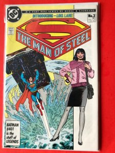 SUPERMAN THE MAN OF STEEL #2 1986 DC /  / HIGH QUALITY