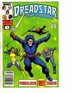 Lot Of 4 Dreadstar And Company Marvel Epic Comic Books #1 2 3 4 Jim Starlin J234