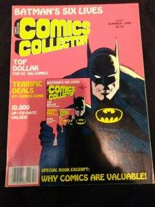 Comics Collectors Batman's Six Lives Summer 1985 NM- BATMAN INFINITY COVER