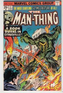 Man-Thing #17 (Jun-75) VF- High-Grade Man-Thing