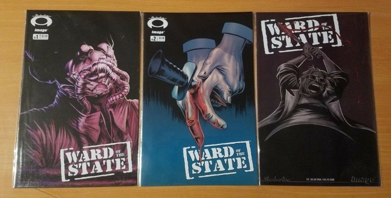 Ward of the State 1-3 Complete Set Run! ~ NEAR MINT NM ~ 2007 Image Comics