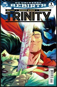 Lot of 12: Trinity 1-11, Annual 1 (Rebirth 2016, DC) All NM or Better