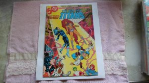 1985 DC COMICS THE NEW TEEN TITANS # 14