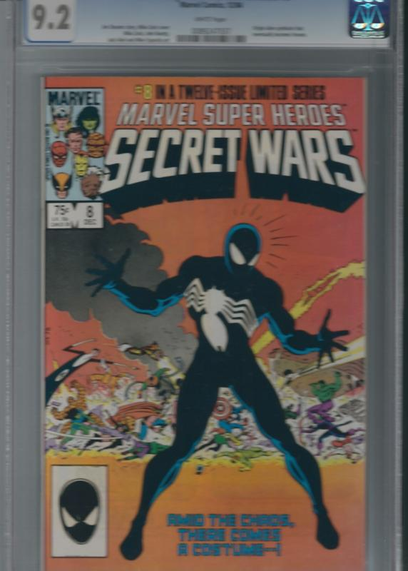MARVEL SUPER HEROES SECRET WARS#8 CGC 9.2