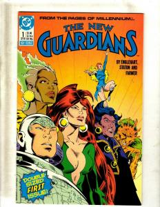 Lot of 11 The New Guardians DC Comic Books #1 2 4 5 6 7 8 9 10 11 12 J344