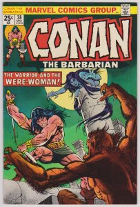 Conan the Barbarian #38 (VF-) Bronze Age, 1974
