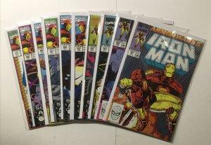 Iron Man 261-270 Lot Run Set Near Mint Nm Marvel