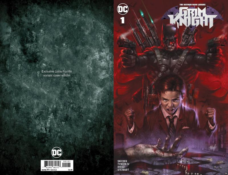BATMAN WHO LAUGHS THE GRIM KNIGHT #1 PARRILLO VARIANT DC COMICS JOKER