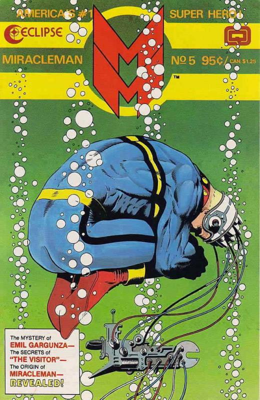 Miracleman #5 FN; Eclipse | save on shipping - details inside