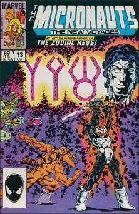 Marvel THE MICRONAUTS (1984 Series) #13 VF