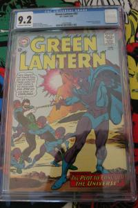 Green Lantern #37 (DC, 1965) CGC NM- 9.2 Off-white to white pages