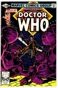 MARVEL PREMIERE 59 VG-F  DOCTOR WHO  1981