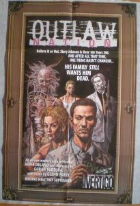 OUTLAW NATION Promo poster, Glenn Fabry, 22 x 34, 2000, Unused