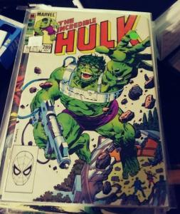 Incredible Hulk  # 289 1984 marvel avengers  modok abomination