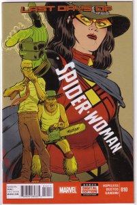 Spider-Woman (vol. 5, 2015) # 10 FN (Secret Wars: Last Days) Hopeless/Bustos