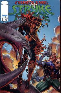 Codename: Stryke Force #7 VF/NM; Image | save on shipping - details inside