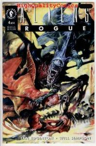 ALIENS ; ROGUE #4, Horror, NM+, Will Simpson, Sci-fi, more Horror in store