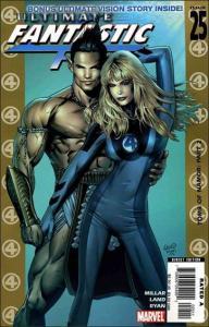 Marvel ULTIMATE FANTASTIC FOUR #25 VF