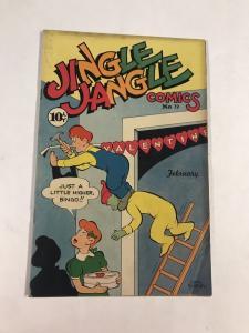 Jingle Jangle Comics 19 4.0 Vg Very Good Golden Age