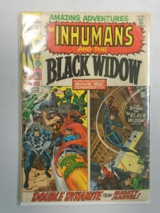 Amazing Adventures #1 featuring The Inhumans and Black Widow 3.0 GD VG (1970)