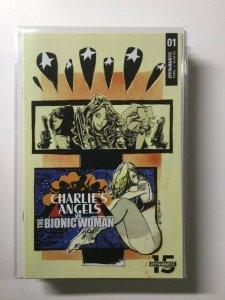 Charlie's Angels vs Versus Bionic Woman 2 Variant Near Mint Dynamite HPA