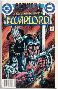 Warlord Annual #1 (DC, 1982) VG/FN