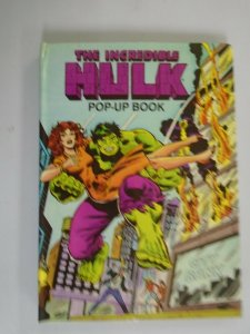 Incredible Hulk Pop-Up Book HC 6.0 FN (1980)