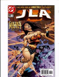 Lot of 5 JLA DC Comic Book #62 63 64 65 66 KS2