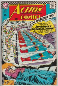Action Comics #344 (Dec-66) VF+ High-Grade Superman, Supergirl
