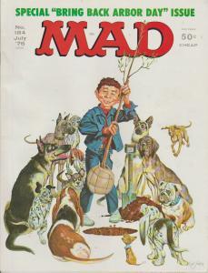 MAD MAGAZINE #184 - HUMOR COMIC MAGAZINE
