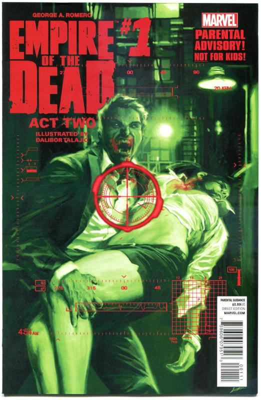 EMPIRE of the DEAD II #1 2 3 4 5, NM, George Romero, Zombies, 2014,more in store