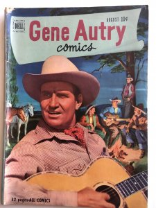 Gene Autry#54,VG, one corner has issue