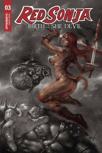 RED SONJA BIRTH OF SHE DEVIL (2019 DYNAMITE) #3 VARIANT 1:15 CVR A PRESALE-08/14