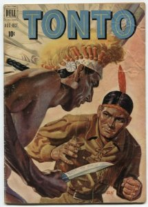 Tonto #2 1951-Dell Western comic- painted G