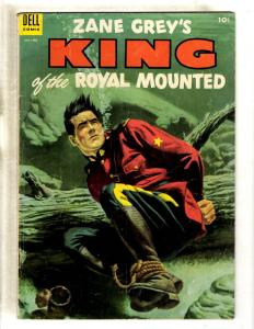 Zane King Of The Royal Mounted # 14 VG/FN Dell Golden Age Comic Book Western JL8