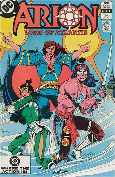 DC ARION, LORD OF ATLANTIS #3 VF/NM