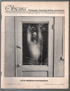 Obscura 12/1981-Latin American Photography issue-pix-info-VG