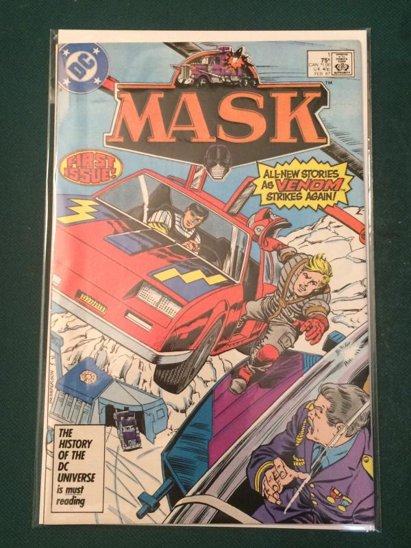 MASK #1 FIRST ISSUE!