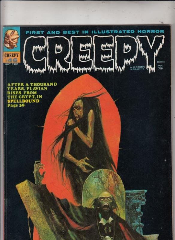 Creepy Magazine #46 (Jul-72) VF High-Grade