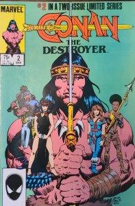 Conan the Destroyer #2 (1985)